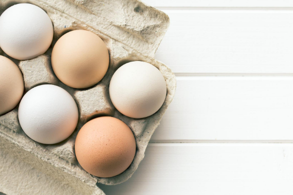 eggs on tray represents story about personal growth