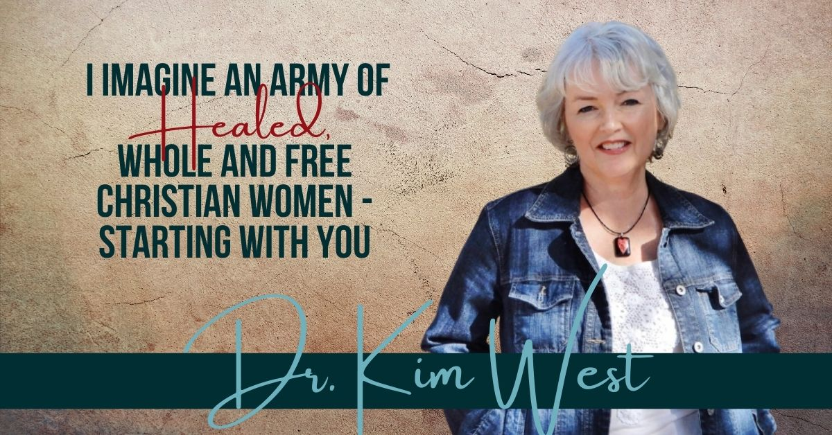 Read more about the article I Imagine an Army of Healed, Whole and Free Christian Women – Starting With You